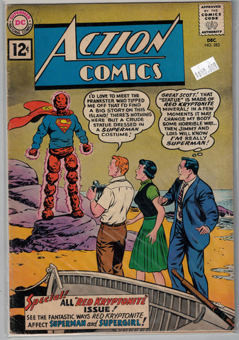 Action Comics Issue #283 DC Comics $40.00