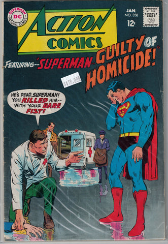 Action Comics Issue #358 DC Comics $18.00
