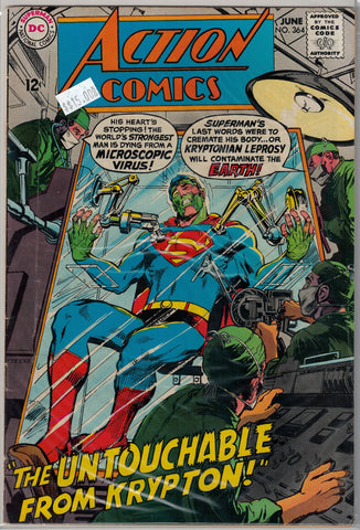 Action Comics Issue #364 DC Comics $15.00