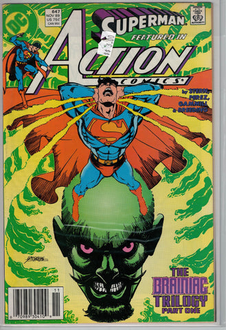 Action Comics Issue #647 DC Comics $3.00