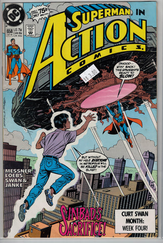 Action Comics Issue #658 DC Comics $3.00