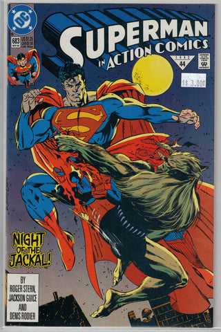 Action Comics Issue #683 DC Comics $3.00