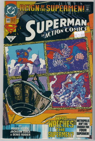 Action Comics Issue #689 DC Comics $3.00