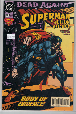 Action Comics Issue #705 DC Comics $3.00