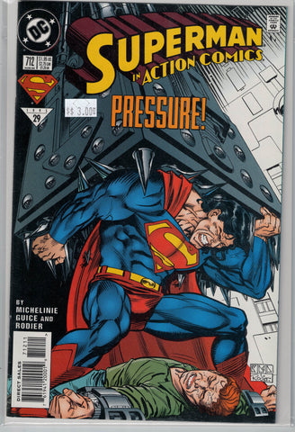 Action Comics Issue #712 DC Comics $3.00