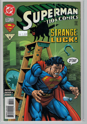 Action Comics Issue #721 DC Comics $3.00
