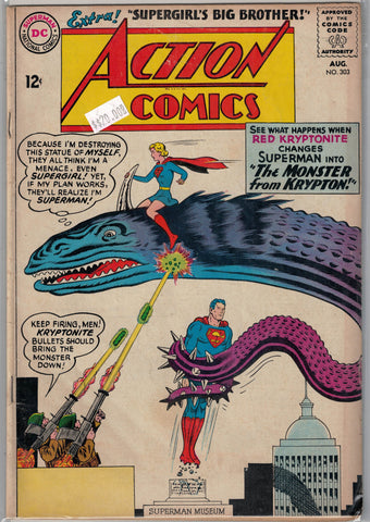 Action Comics Issue #303 DC Comics $20.00