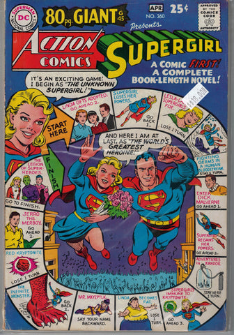 Action Comics Issue #360 DC Comics $18.00