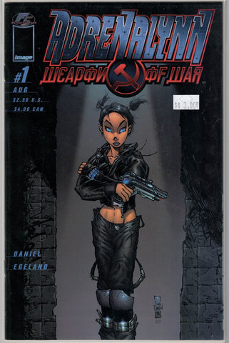 Adrenalynn Weapon of War Issue # 1 Image Comics  $7.00