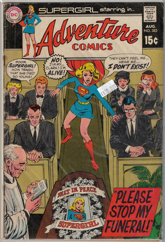 Adventure Comics Issue #383 DC Comics  $10.00