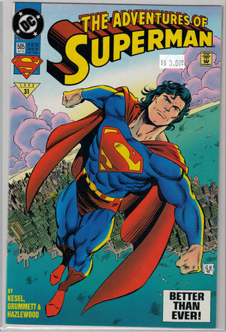 Adventures of Superman Issue # 505 DC Comics $3.00