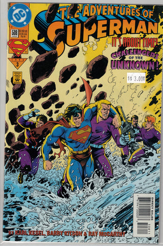 Adventures of Superman Issue # 508 DC Comics $3.00