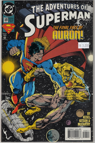 Adventures of Superman Issue # 509 DC Comics $3.00