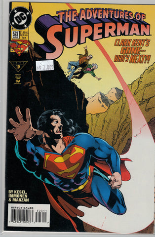 Adventures of Superman Issue # 523 DC Comics $3.00