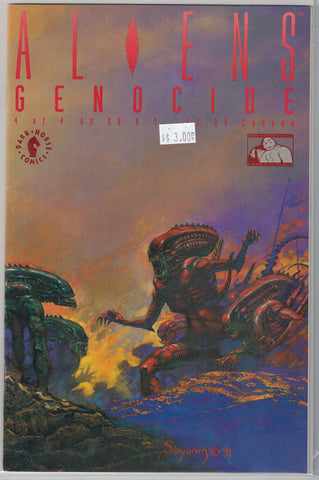 Aliens: Genocide Issue # 4 Dark Horse Comics $3.00