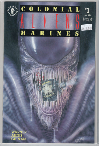 Aliens: Colonial Marines Issue # 1 Dark Horse Comics $3.00