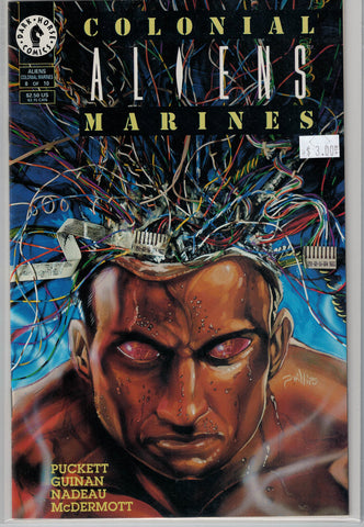 Aliens: Colonial Marines Issue # 8 Dark Horse Comics $3.00