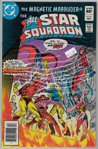 All-Star Squadron Issue #16 DC Comics $4.00