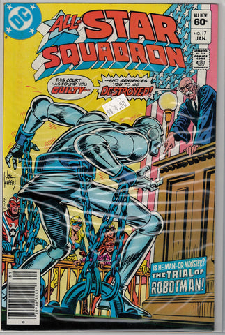 All-Star Squadron Issue #17 DC Comics $4.00