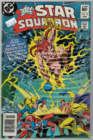 All-Star Squadron Issue #18 DC Comics $4.00