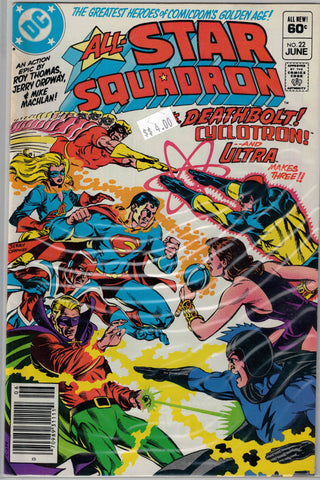 All-Star Squadron Issue #22 DC Comics $4.00