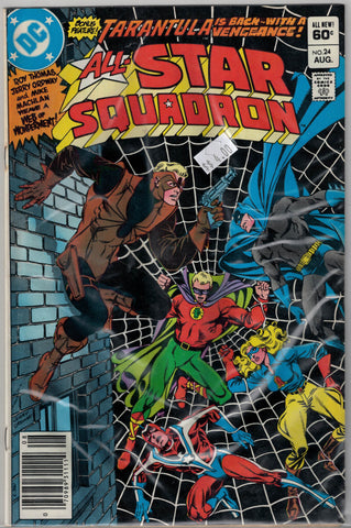 All-Star Squadron Issue #24 DC Comics $4.00