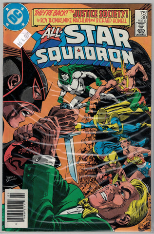 All-Star Squadron Issue #30 DC Comics $4.00