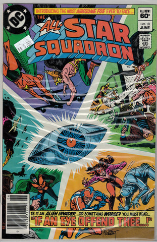 All-Star Squadron Issue #10 DC Comics $5.00