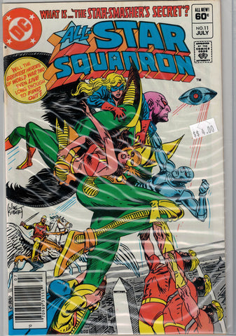 All-Star Squadron Issue #11 DC Comics $4.00