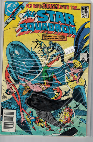 All-Star Squadron Issue # 2 DC Comics $5.00