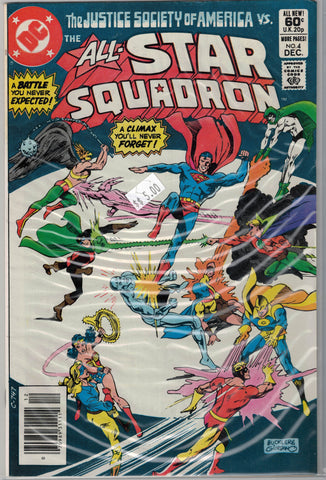 All-Star Squadron Issue # 4 DC Comics $5.00