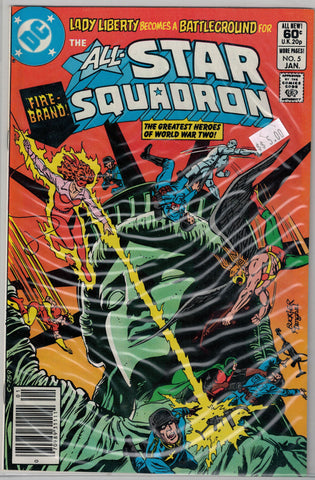 All-Star Squadron Issue # 5 DC Comics $5.00