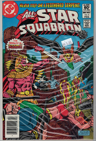 All-Star Squadron Issue # 6 DC Comics $5.00