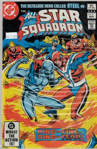 All-Star Squadron Issue # 9 DC Comics $5.00