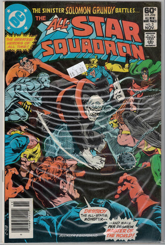All-Star Squadron Issue # 3 DC Comics $5.00
