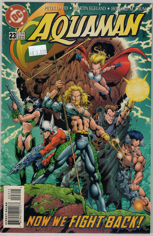 Aquaman (3rd Series) Issue #23 DC Comics $3.00