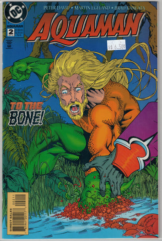 Aquaman (3rd Series) Issue # 2 DC Comics $6.50