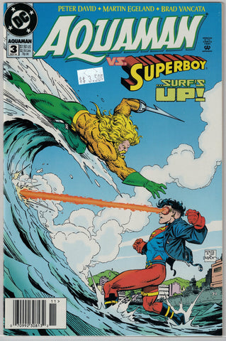 Aquaman (3rd Series) Issue # 3 DC Comics $3.50