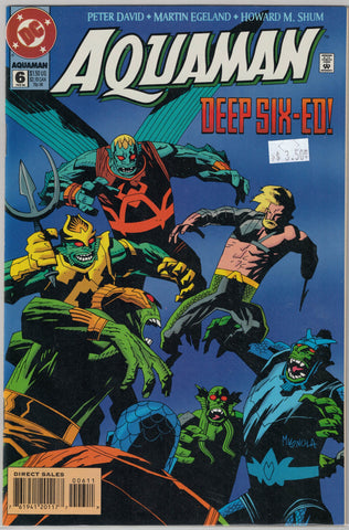 Aquaman (3rd Series) Issue # 6 DC Comics $3.50