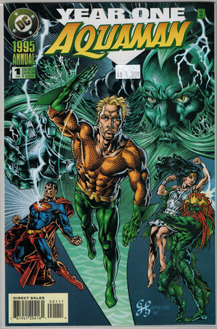 Aquaman (3rd Series) Issue #Annual 1 DC Comics $4.00