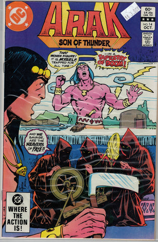 Arak: Son of Thunder Issue #14 DC Comics  $3.00