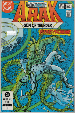 Arak: Son of Thunder Issue #16 DC Comics  $3.00