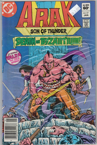 Arak: Son of Thunder Issue #17 DC Comics  $3.00