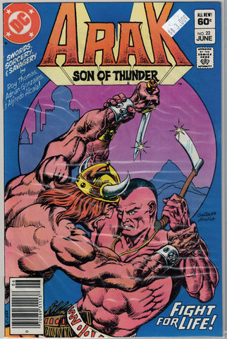 Arak: Son of Thunder Issue #22 DC Comics  $3.00