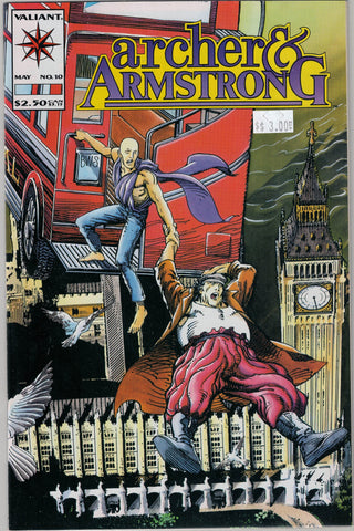 Archer & Armstrong Issue #10 Valiant Comics $3.00