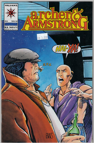 Archer & Armstrong Issue #12 Valiant Comics $3.00