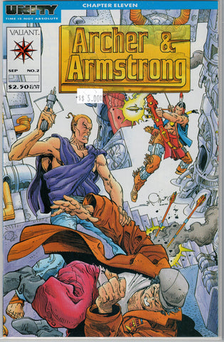 Archer & Armstrong  Issue # 2 Valiant Comics $5.00