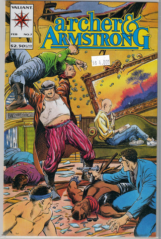 Archer & Armstrong Issue # 7 Valiant Comics $4.00