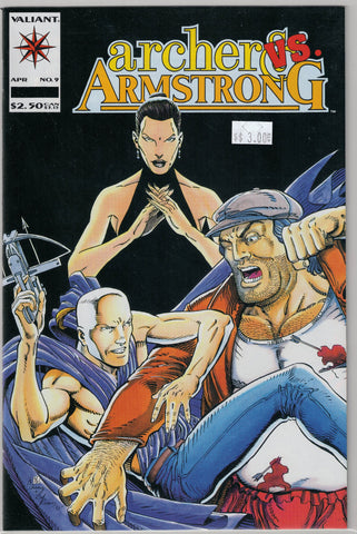 Archer & Armstrong Issue # 9 Valiant Comics $3.00