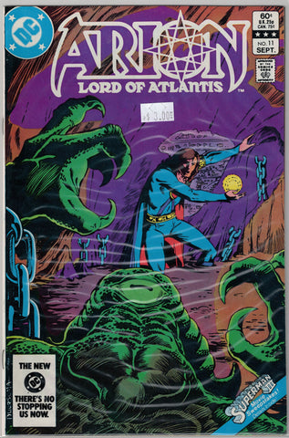 Arion: Lord of Atlantis Issue #11 DC Comics $3.00